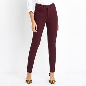 "Madewell jeans Women's 9"" High Rise Skinny 30"